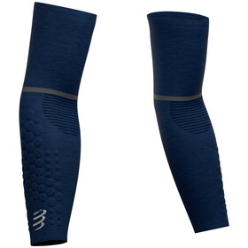 Compressport ArmForce Ultralight Manguitos, blue/melange